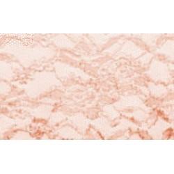 Nappe rectangle dentelle poudre