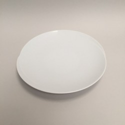 Assiette plate ronde Wed