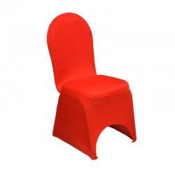 Housse de chaise rouge