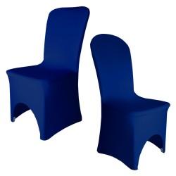 Housse de chaise bleu royal