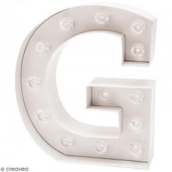 Lettre lumineuse à Led G
