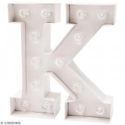 Lettre lumineuse à Led K