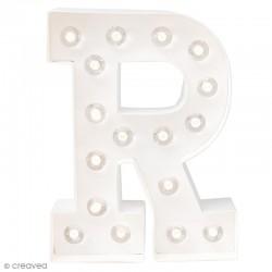 Lettre lumineuse à Led R