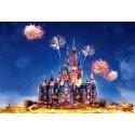 Toile de fond château Disney