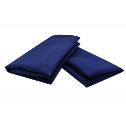 Serviette de table bleu marine