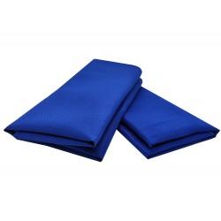 Serviette de table bleu roi