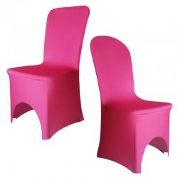 Housse de chaise fuschia