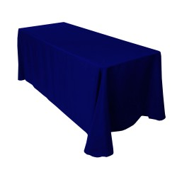 Nappe rectangle bleu marine