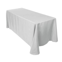 Nappe rectangle gris
