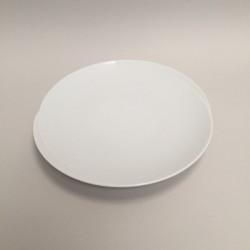 Assiette plate ronde à dessert