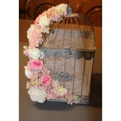 Cage oiseau carrée