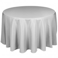 Nappe ronde grise