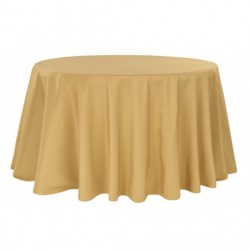Nappe ronde or