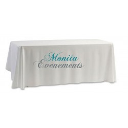 Nappe rectangle blanche 300x175