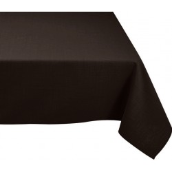 Nappe rectangle noire 300x150
