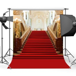 Toile de fond escalier