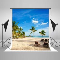 Toile de fond plage