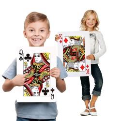 Jeu de cartes géantes
