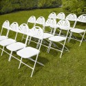 Chaise pliante de cérémonie